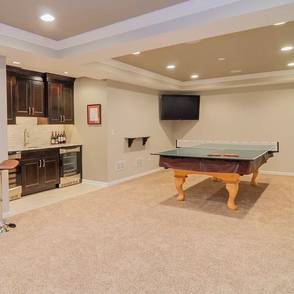 85 Best Basements: Game Room Ideas Images On Pinterest