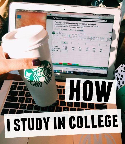 How I Study: College Edition - Brooke Miccio