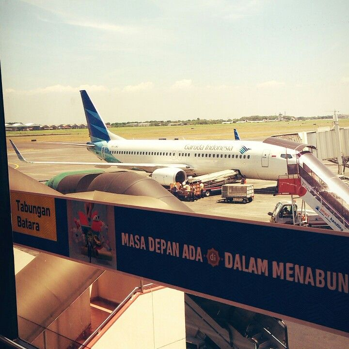 International airport juanda surabaya east java indonesia.photo taken from gate 7