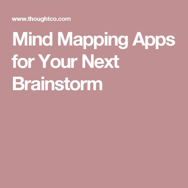 Mind Mapping Apps for Your Next Brainstorm