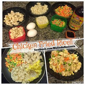 Chicken Fried Rice & Lots of other 21 Day Fix Extreme recipes...check them out!!  www.facebook.com/MelindaBesinaiz