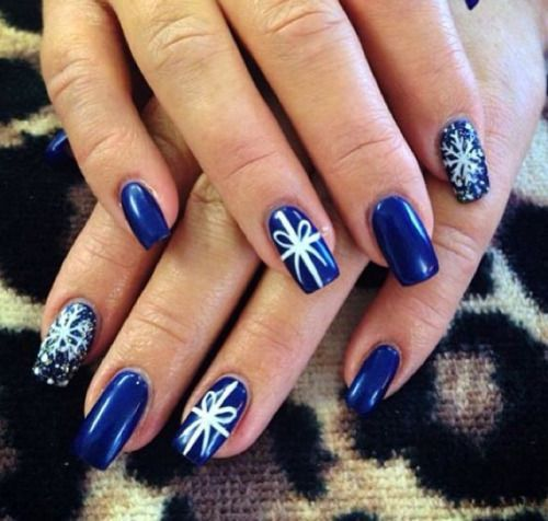 Best 25 christmas present nails ideas on pinterest christmas easy christmas present nail art designs ideas 2015 prinsesfo Gallery