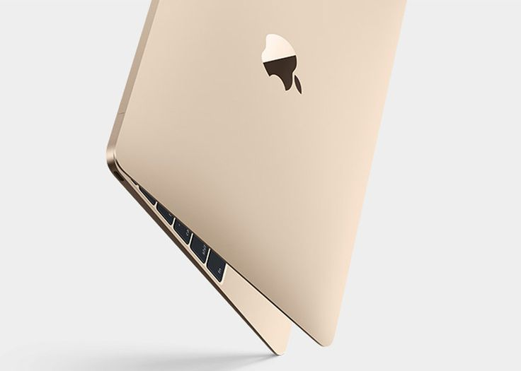 Apple has revealed its latest laptop computer, which weighs only two pounds and comes in gold.