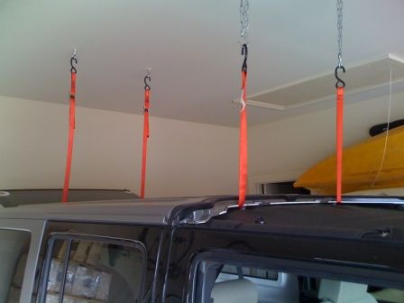 Cheap and Easy Hard Top Hoist - JKowners.com : Jeep Wrangler JK Forum