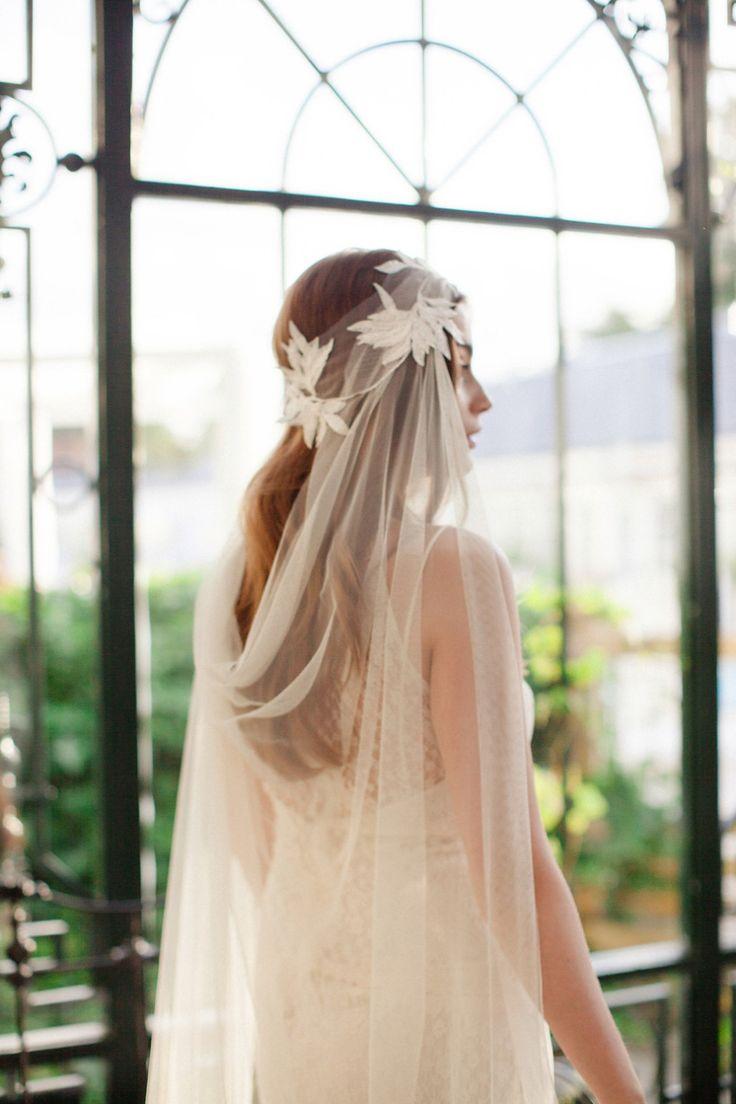 Jannie Baltzer 2016 Bridal Headpieces and Accessories   https://www.itakeyou.co.uk/wedding/jannie-baltzer-2016-bridal-accessories   UK Wedding Blog: