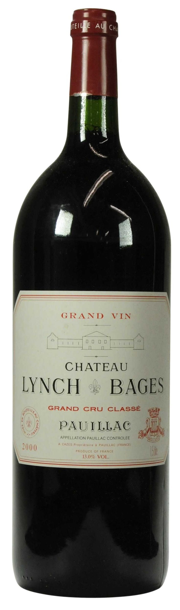 Château Lynch-Bages 2000  l Christie's Signature Cellars - Online Wine Auction New York Going on NOW- 18 February - 27 February...CLICK TO BID!