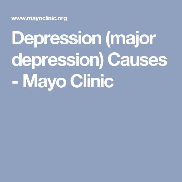 Remeron Antidepressant Mayo Clinic