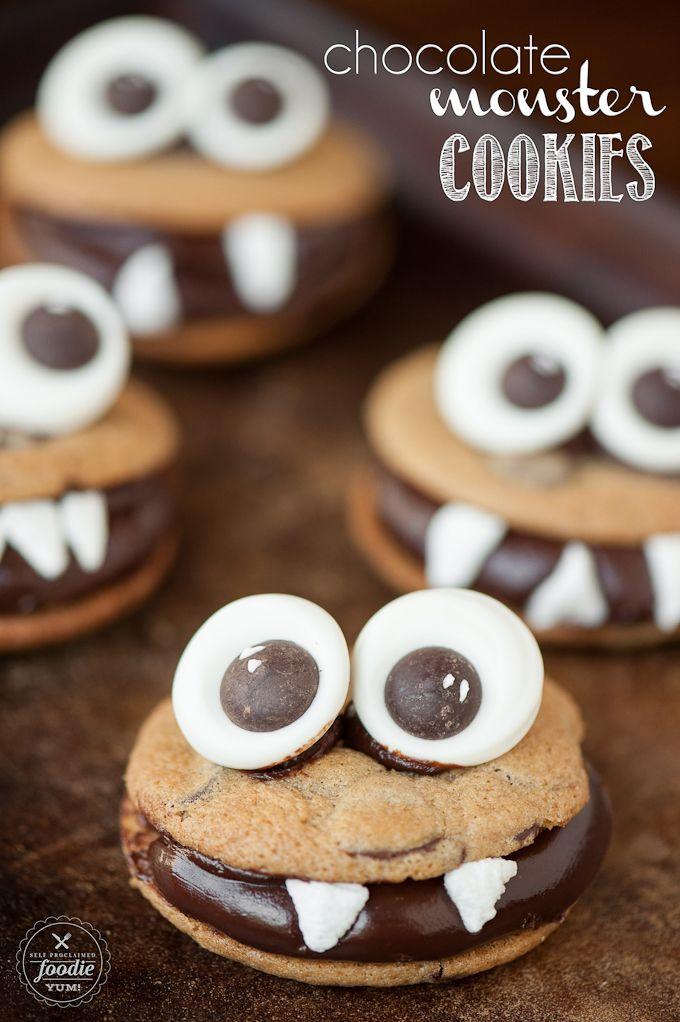 Chocolate Monster Cookies - Self Proclaimed Foodie