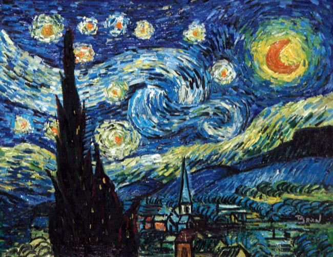 """Van Gogh One of my favorite quotes: """"The way to know life is to love many things"""""""