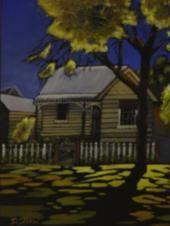 Artist: Doreen Shaw - Title: Camden Cottage ( H 25 cm X W 20 cm)