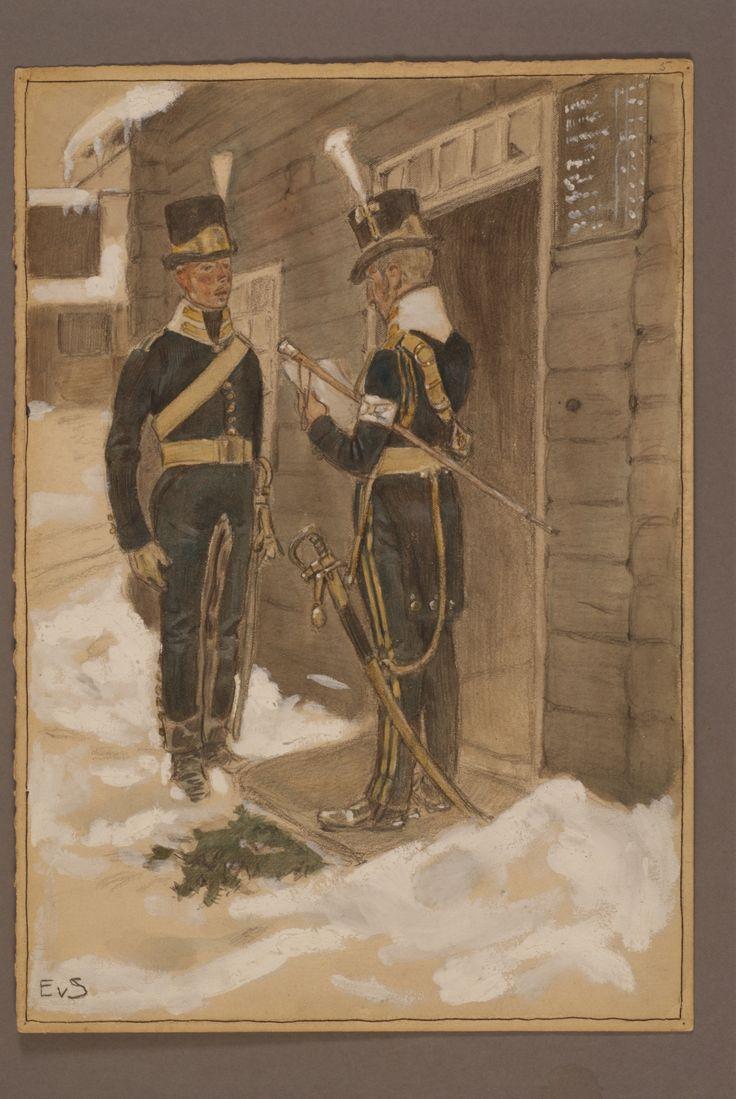 Wendes artillery regiment by Einar von Strokirch