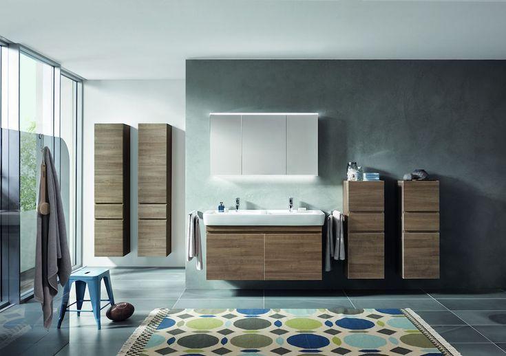 Badkamermeubels uit de serie Sphinx 320 #badkamer #hout