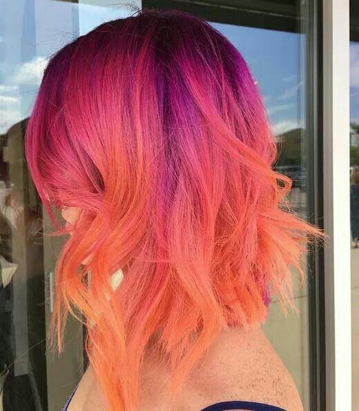 Sunset hair                                                       …