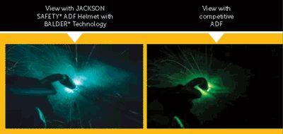 Jackson Balder® BH3 Auto Darkening Welding Helmet 37191