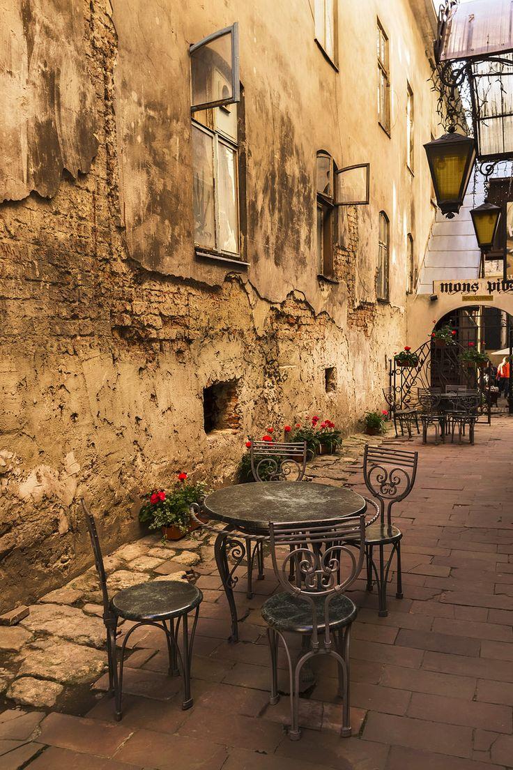 Old Street, Lviv, Ukraine
