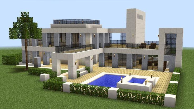 Minecraft - How to build a modern house 18 https://cstu.io/89ce67