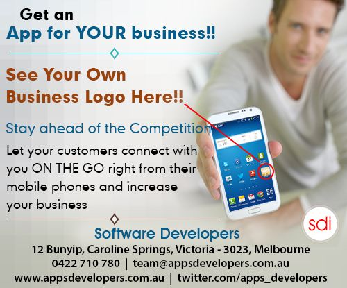#Australia #startups increase #conversion get an #app for your #business . connect with SDI.Email team@appsdevelopers.com.au or call 0422 710 780 for Free consultation. #apps #businessapps #appsforbusiness #mobilebusinessapps