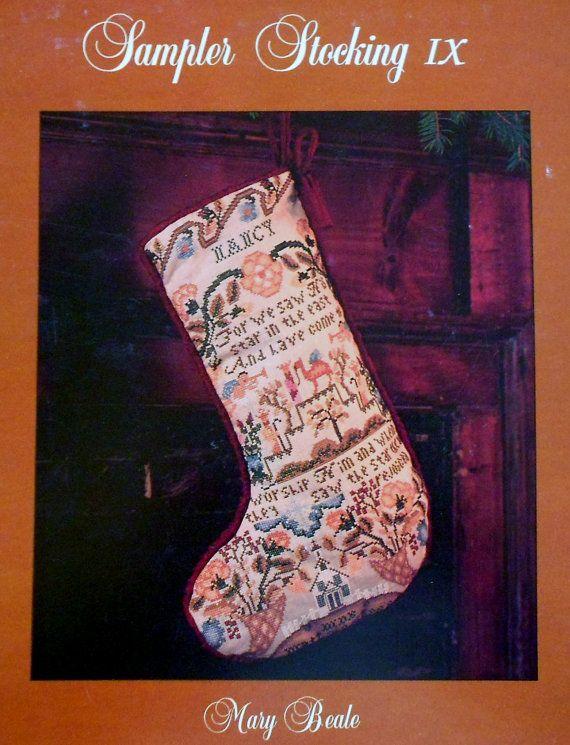 Bucilla Counted Cross Stitch Christmas Stocking Kits