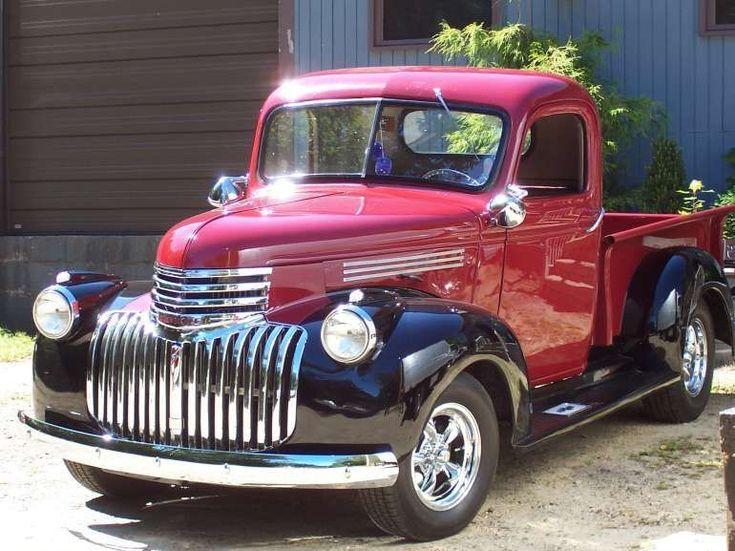 Chevy Pickup Von 1946 Chevy Pickup Alte Lkws Chevrolet Truck