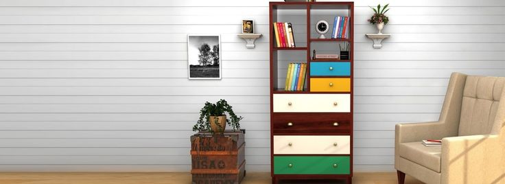 Buy #Bookshelves Online at the most affordable prices. Wooden Street is India's largest home shopping destination that gives you the perfect #storage #furniture online at best prices. Choose from the varied sizes and colours as per your choice. Visit : https://www.woodenstreet.com/storage-furniture in #Ahmedabad #Bangalore #Bhopal #Chandigarh