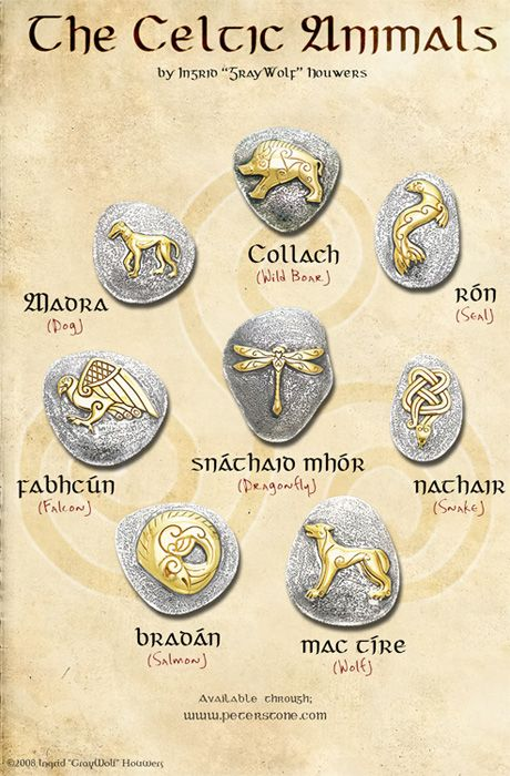 On request, a picture that contains all the designs in one image. This is the Celtic Animals range, containing some lesser re-presented animals of Celtic lore and what they can mean to us. The anim...
