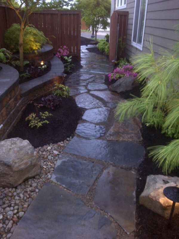 Another side yard landscaping idea