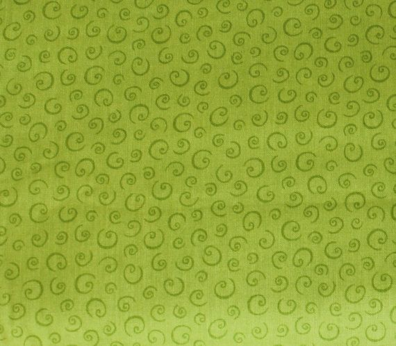 Christmas Fabric Holiday Cheer 1649-45693 Green Swirl Studio 8 for VIP 100% Cotton Quilt Apparel Craft Lime Green Tone on Tone Swirls by JacobandChloesLLC on Etsy