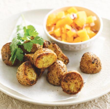 Cajun roast potatoes