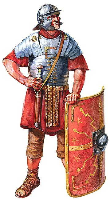 """Legionary 1st century AD"", Radu Oltean"