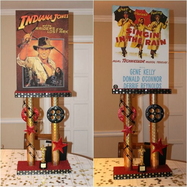 Used Movie Theme Bat Mitzvah Centerpieces For Sale - mazelmoments.com