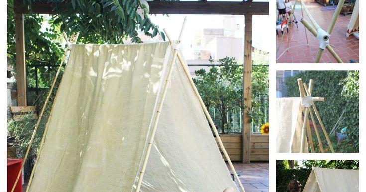 Mamà recicla: Tenda de campanya / Tienda de campaña / Tenda de campanha
