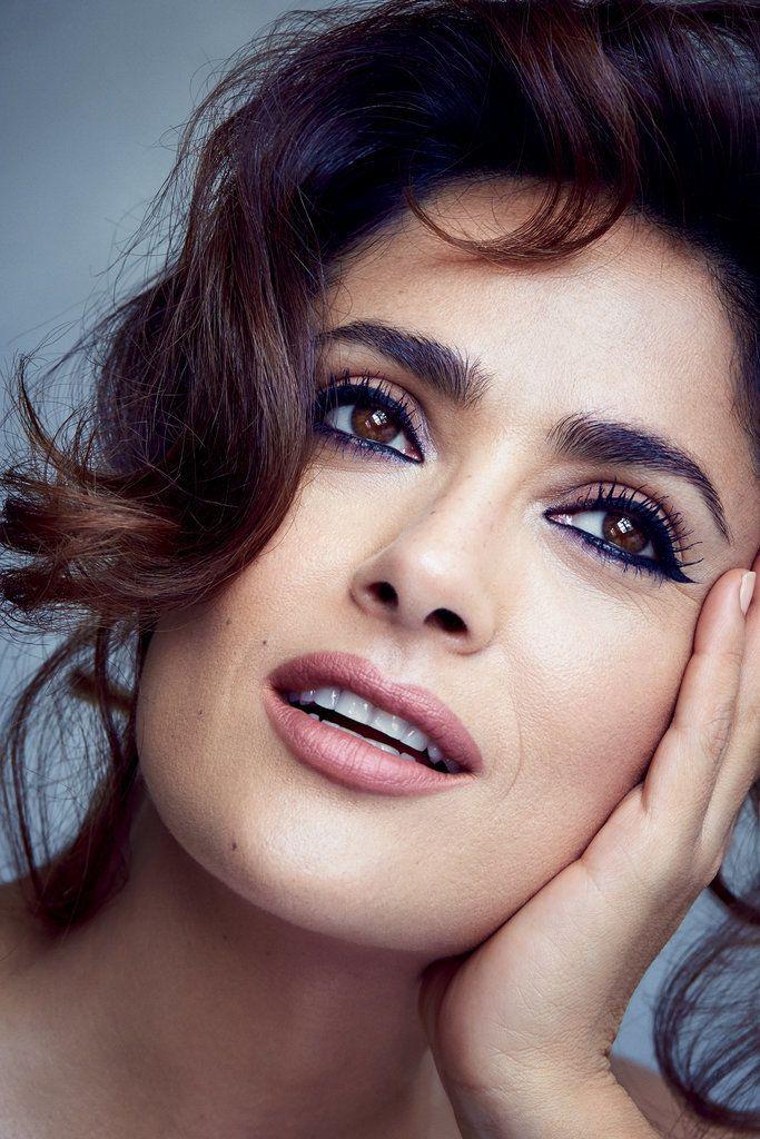 Salma Hayek Says Her Husband Pushed Her to Go Back to Work Postbaby. #celebrities #salmahayek