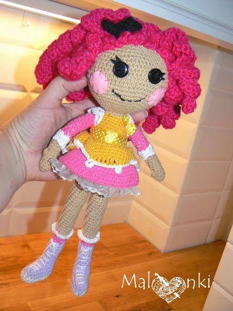 Amigurumi doll lalaloopsy sugar cookie crochet