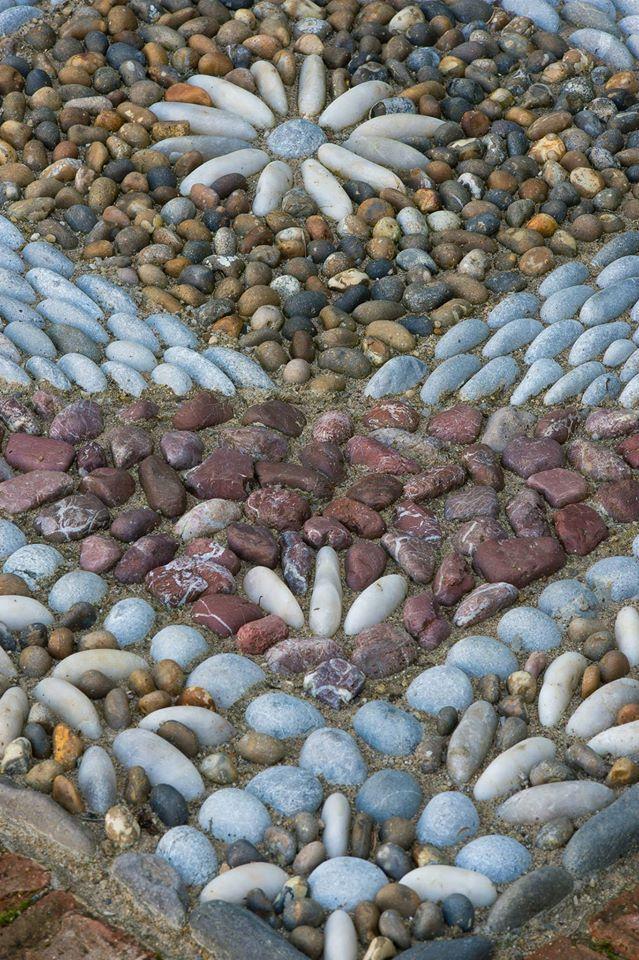 Pebble Mosaic Close Up U2022 Ian Lamond Photography