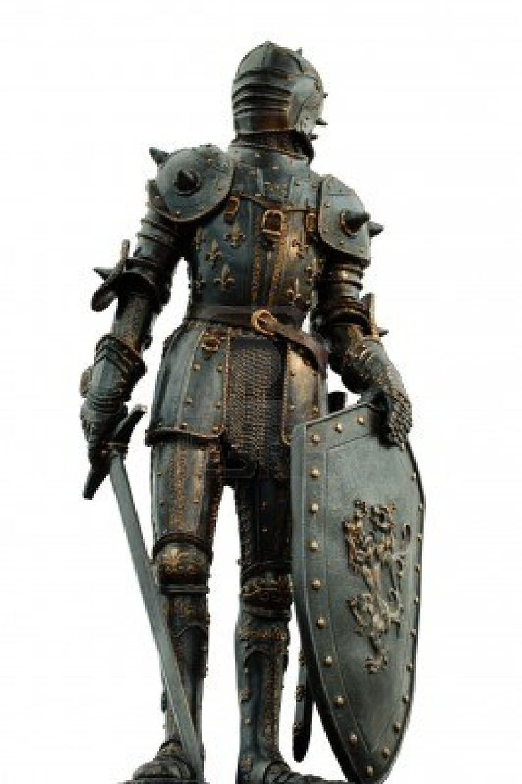 medieval knight with full body armor Stock Photo - 14163231