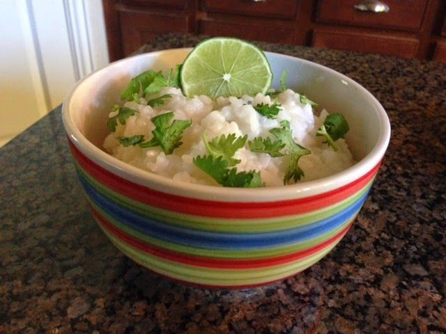 Recipe: Cilantro Lime Rice #CincoDeMayo ~ Trendy Mom Reviews: Recipe Limes, Cilantro Limes Rice, Review Recipe, Recipe Rice, Mom Review, Cilantro Lime Rice, Rice Cincodemayo, Trendy Readers, Trendy Mom