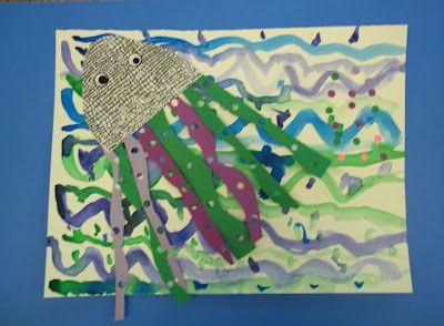 Mrs. Knight's Smartest Artists: Collage and Illustration, 1st grade