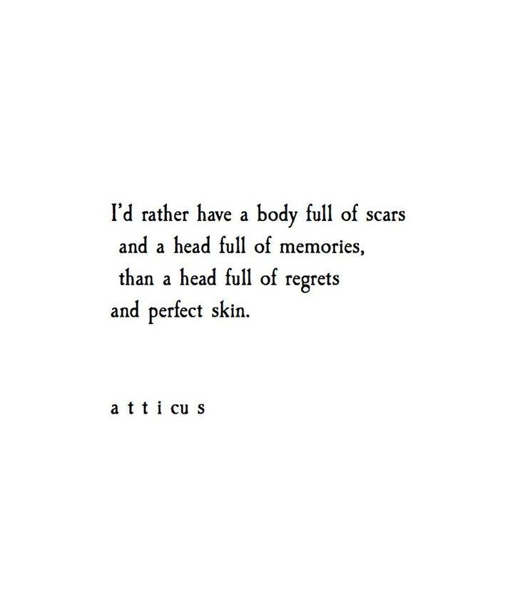 'Perfect Memories'   @atticuspoetry #atticuspoetry