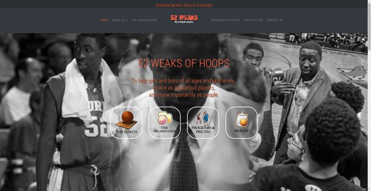 http://www.52weaksofhoops.com. To help girls and boys of all ages and skill levels,  evolve as basketball players, and more importantly as people.