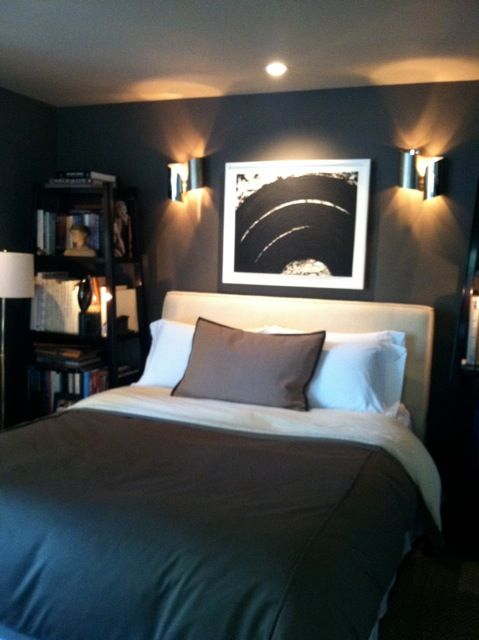 Lovely Masculin Bedroom Http://materialgirlsblog.com/losangeles/files/2012/ Gallery
