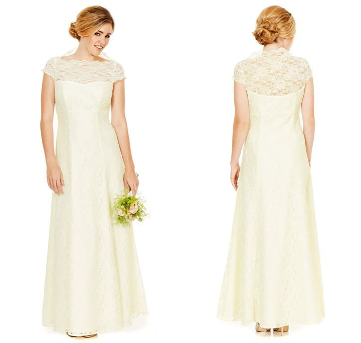 Brides looking for a bargain can now pick up a wedding dress for just £80 at Tesco during their weekly online shop.  We can imagine the grooms of Don't Tell the Bride will love this.