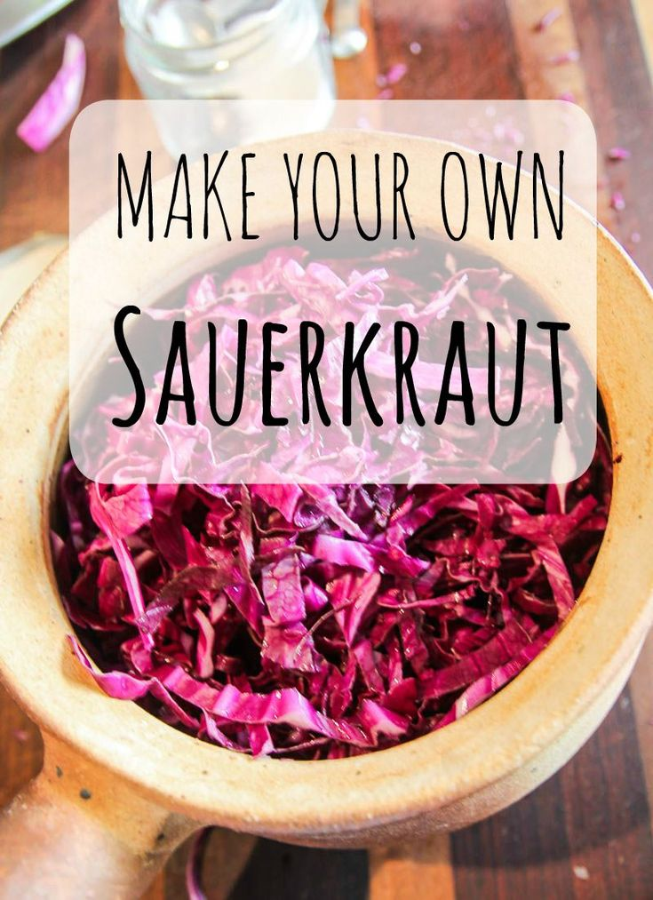 Make your own sauerkraut in less than seven days with this easy recipe. Start your fermenting journey by creating your own sauerkraut using red or white cabbages. It only takes 10 minutes to start and then a few days of nurturing before you can tuck into your own sauerkraut creation. Get the recipe now.