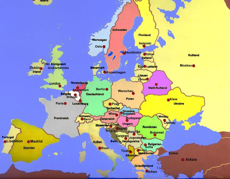 Europa Hauptstädte | Europa Reiseführer
