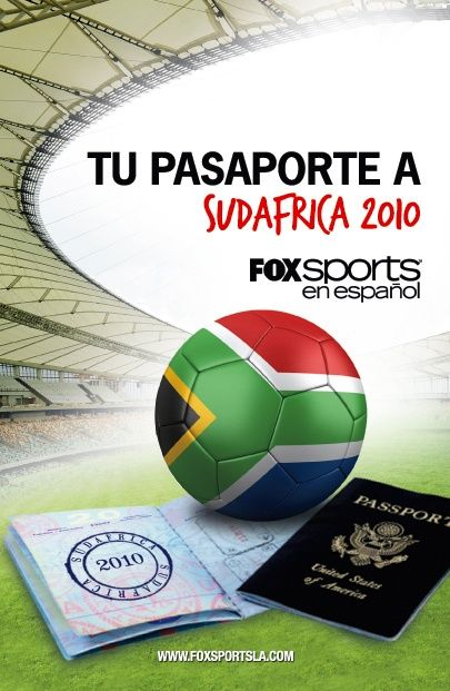 I like the color. It gets the point across with the image that it has todo with the Gold world cup with the passport and the soccer ball