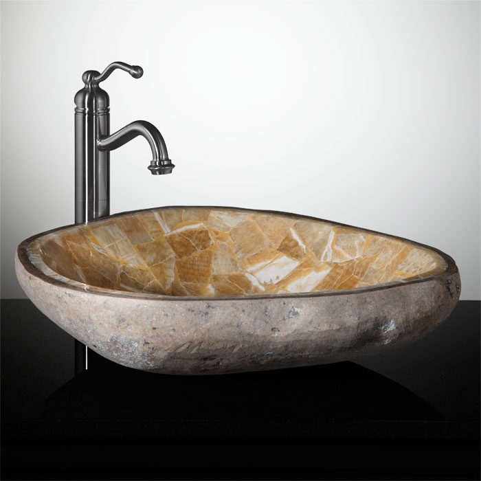 natural stone bathroom sinks 1000 images about powder room vessel sinks on 19710