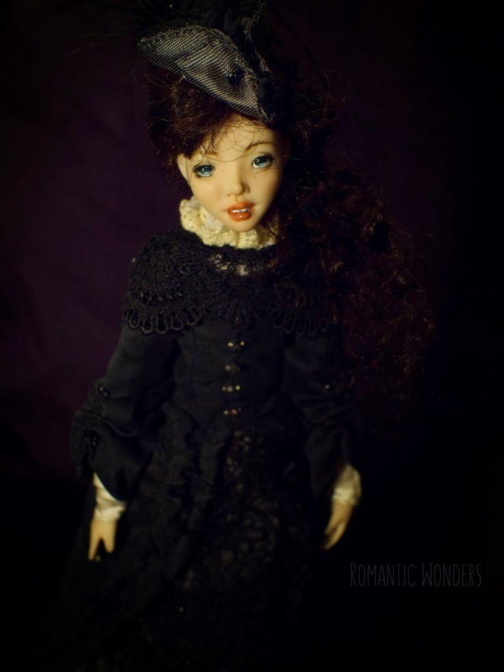 ...................Romantic Wonders....................: ''Lady''. Handmade Ooak doll by Romantic Wonders