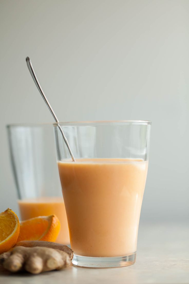 TROPICAL SUNSHINE SMOOTHIE  A fresh and fruity smoothie with the bright flavors of mango, pineapple, orange and carrots.