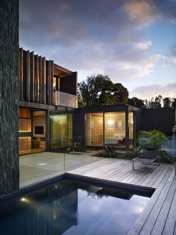 Forman house bossley architects aukland new zealand for Pool design auckland
