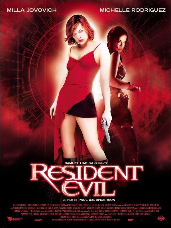 One of my favorite all time movies.Movie Posters, Evil 2002, Resident Evil, Evil Movie, Milla Jovovich, Favorite Movie, Horror Movie, Evil Series