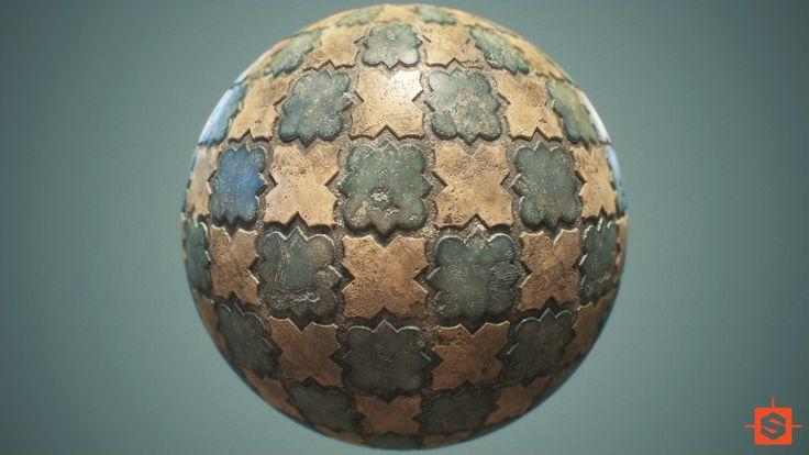 ArtStation - Material Practice - Terracotta Tiles, Nate Stephens